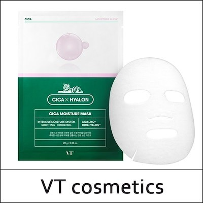 [VT Cosmetics] (bo) シカモイスチャーマスク(28g * 6ea)1パック / Cica Moisture Mask (28g*6ea) 1 Pack