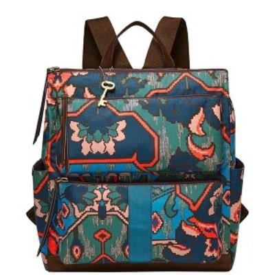 フォッシル レディース バックパック・リュックサック バッグ Women's Jenna Backpack Blue Multi