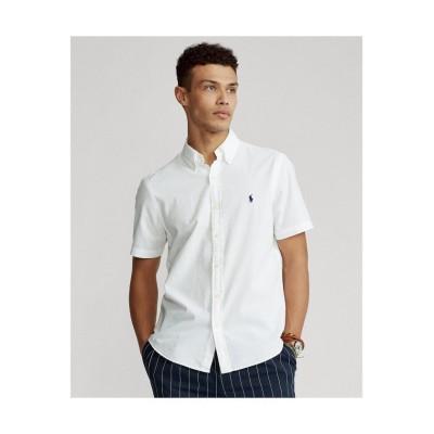 (POLO RALPH LAUREN/ポロ ラルフローレン)クラシックフィットシアサッカーシャツ/メンズ 100ホワイト