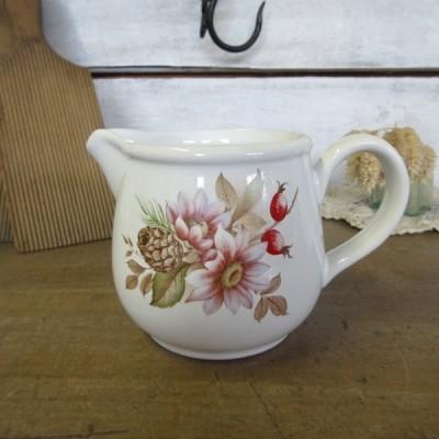 イギリス キッチン雑貨 クリーマー ミルクジャグ フラワーベース 花瓶にも 置き物 飾り インテリア雑貨 英国製 tableware 1762sa