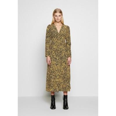 セレクテッドフェム ワンピース レディース トップス SLFJUANA ANKLE DRESS - Day dress - dark sapphire/juana