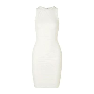 エルベ レジェ バイ マックス アズリア HERVÉ LÉGER ミニワンピース&ドレス ホワイト XS レーヨン 90% / ナイロン 9% /