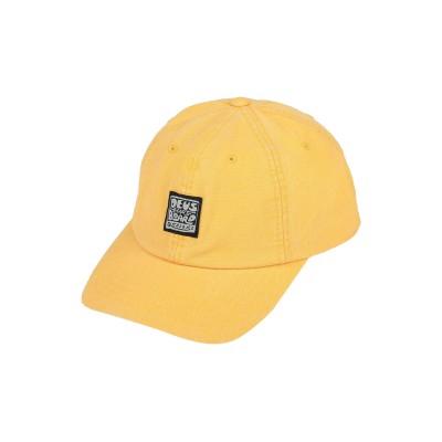デウスエクスマキナ DEUS EX MACHINA 帽子 イエロー one size コットン 100% 帽子