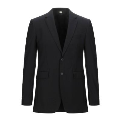 BURBERRY テーラードジャケット ブラック 46 バージンウール 100% テーラードジャケット