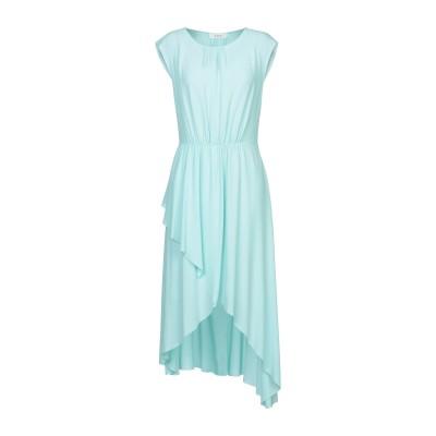 ジャッカ JUCCA 7分丈ワンピース・ドレス ライトグリーン 44 アセテート 69% / シルク 31% 7分丈ワンピース・ドレス