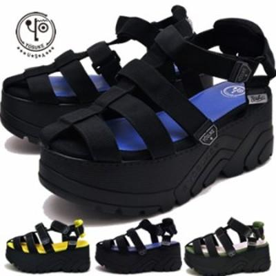 ヨースケ YOSUKE 靴 厚底サンダル メンズ スポーツサンダル ※(予約)は3営業日内に発送