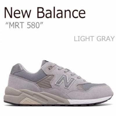 ニューバランス スニーカー NEW BALANCE 580 メンズ レディース LIGHT GRAY グレー MRT580GE シューズ