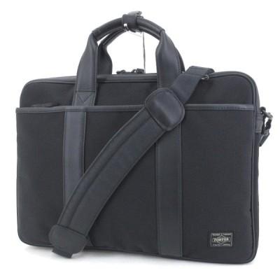美品 PORTER ポーター ブリーフケース TAG 125-04488 2way ショルダーバッグ ターク ナイロン ブラック 黒  バッグ 鞄  中古 65000959