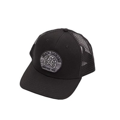 Black Diamond(ブラックダイヤモンド) BDトラッカーハット BD68203 アルミニウムニット/ブラック ワンサイズ