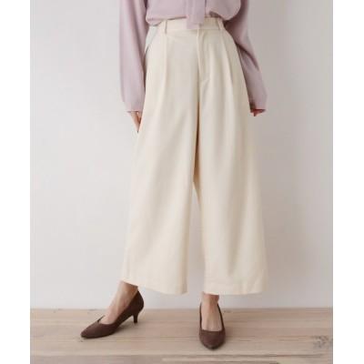 SOUP / 【大きいサイズあり・13号・15号】起毛ストレッチワイドパンツ WOMEN パンツ > パンツ