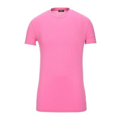 ディースクエアード DSQUARED2 アンダーTシャツ フューシャ S レーヨン 95% / ポリウレタン 5% アンダーTシャツ