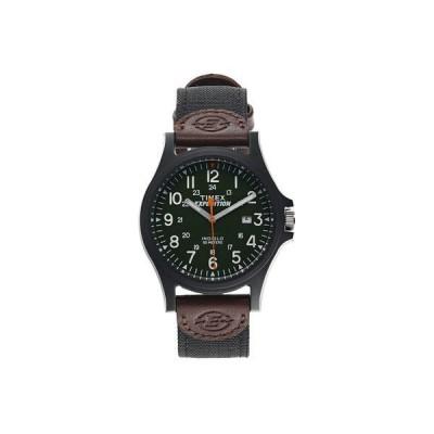 タイメックス メンズ 腕時計 アクセサリー Expedition Acadia Date 40mm Fabric Strap Watch