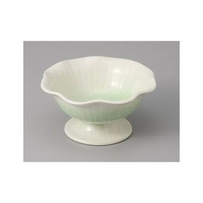 小鉢 春雪グリーン高台小鉢 和食器 業務用 美濃焼 9a64-25-77g