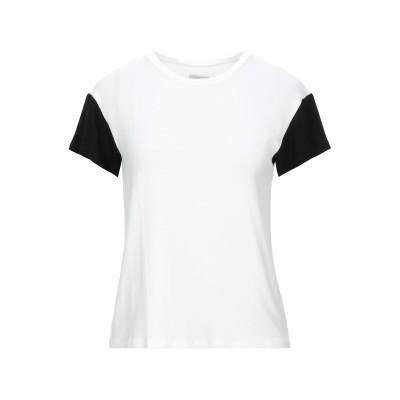 メルシー ..,MERCI T シャツ ホワイト XS レーヨン 68% / レーヨン 26% / ポリウレタン 6% T シャツ