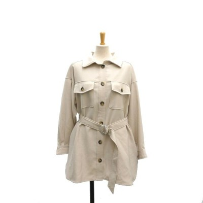 Mystrada CPOシャツジャケット ベージュ サイズ:36 (堅田店) 210430