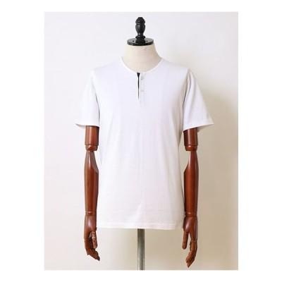 【SALE セール】 wjk ダブルジェイケー sweater's cutsewn henly neck white wjk7930lj91