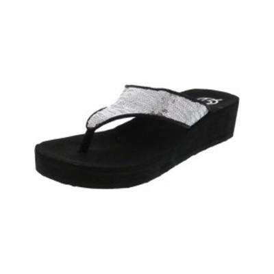 Creative Recreation クリエイティブレクリエーション ファッション サンダル Creative Recreation Womens Sequin Rubber Wedged Sandal