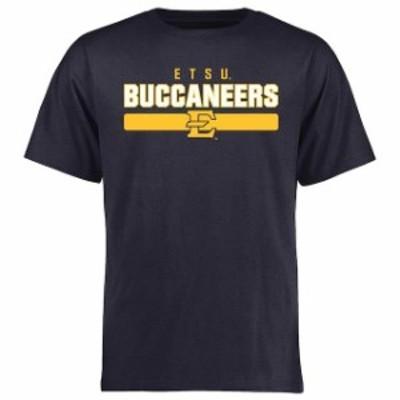 Fanatics Branded ファナティクス ブランド スポーツ用品  ETSU Buccaneers Navy Team Strong T-Shirt