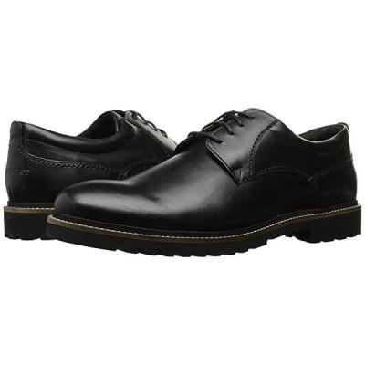 ロックポート Marshall Plain Toe Oxford メンズ オックスフォード Black Leather