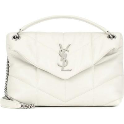 イヴ サンローラン Saint Laurent レディース ショルダーバッグ バッグ Loulou Puffer Small shoulder bag Blanc Vintage