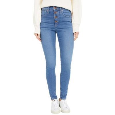 """メイドウェル レディース デニムパンツ ボトムス 10"""" High-Rise Skinny Jeans in Dewitt Wash"""