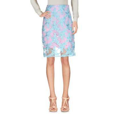 マルケスアルメイダ MARQUES' ALMEIDA ひざ丈スカート ピンク 10 ポリエステル 100% / ナイロン / コットン ひざ丈スカート