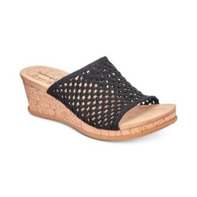 ベアトラップス レディース サンダル シューズ Flossey Slip-On Wedge Sandals Tan