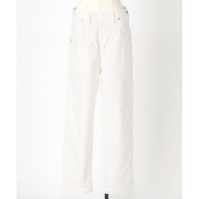 <GRANDMA MAMA DAUGHTER(Women)/グランマ ママ ドーター> WHITE SIDE ZIP PANTS【三越伊勢丹/公式】