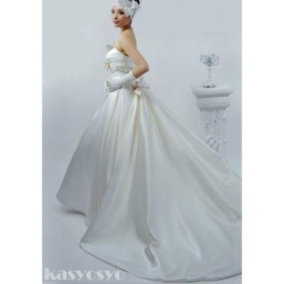 ビスチェタイプ ウェディングドレス (ヘッドドレス手袋別売) wd920