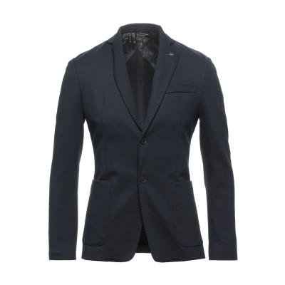 UNGARO テーラードジャケット ダークブルー 46 ナイロン 96% / ポリウレタン 4% テーラードジャケット