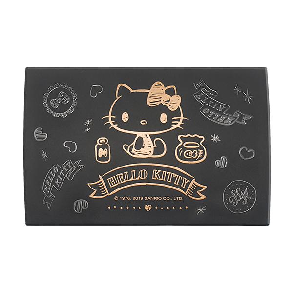 Hello Kitty 手繪風彩妝收納盒