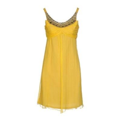NO SECRETS シルクドレス ファッション  レディースファッション  ドレス、ブライダル  パーティドレス オークル