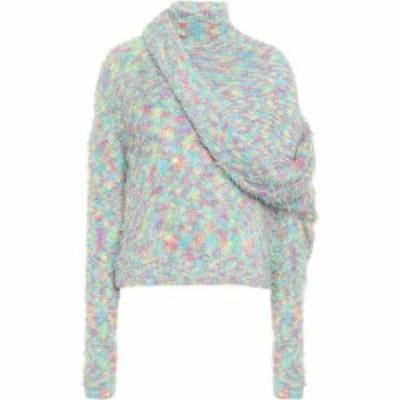 ワイプロジェクト Y/PROJECT レディース ニット・セーター トップス Asymmetric turtleneck sweater Multicolor