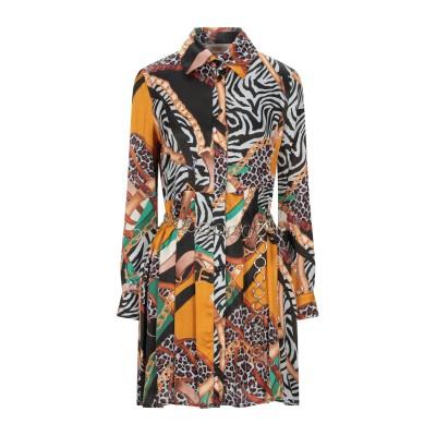 KAOS JEANS ミニワンピース&ドレス オークル 42 レーヨン 100% ミニワンピース&ドレス