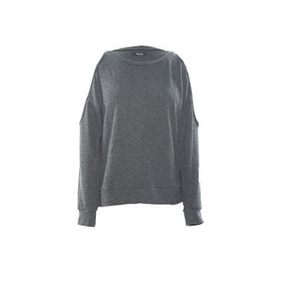 Michael Lauren Skip Open Shoulder L/S Pullover M Black並行輸入品 送料無料