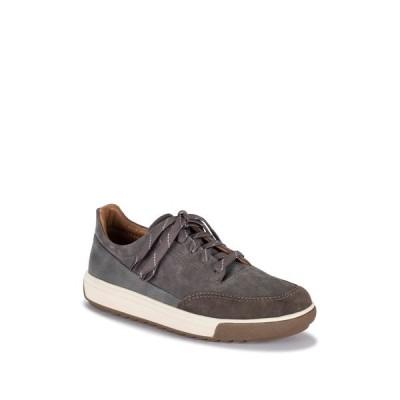 ベアトラップス メンズ スニーカー シューズ Jaxon Leather Oxford Sneaker CHARCOAL
