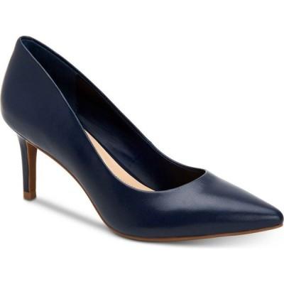 アルファニ Alfani レディース パンプス シューズ・靴 Step 'N Flex Jeules Pumps Navy Leather