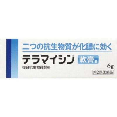 [第2類医薬品][ネコポス(ポスト投函)]テラマイシン軟膏a 6g