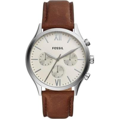 [フォッシル] 腕時計 FENMORE BQ2363I メンズ ブラウン