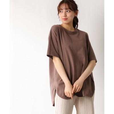 (Honeys/ハニーズ)チュニックTシャツ/レディース ブラウン