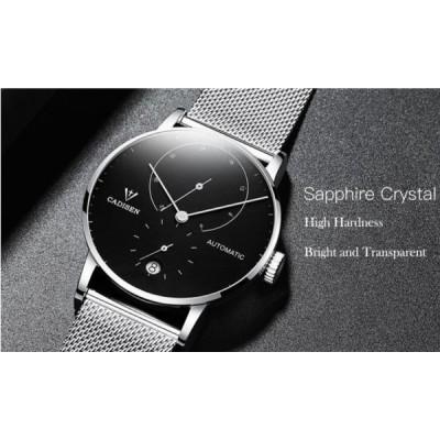 CADISEN メンズ腕時計 スチールバンド 防水時計 2018 男性用腕時計 海外輸入品