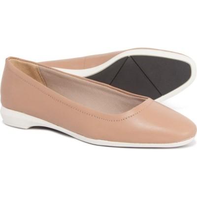 ナチュラライザー Naturalizer レディース スリッポン・フラット シューズ・靴 alya ballet flats - leather Gingersnap Leather