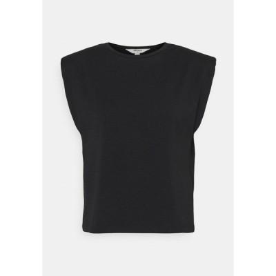 オブジェクト プティ Tシャツ レディース トップス OBJSTEPHANIE JEANETTE - Print T-shirt - black