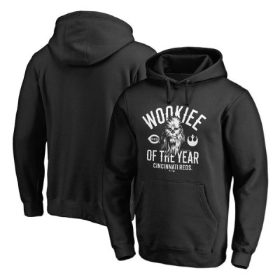 シンシナティ・レッズ Fanatics Branded Star Wars Wookiee Of The Year Pullover Hoodie - Black