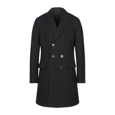 ニール・バレット NEIL BARRETT コート ブラック 46 ウール 80% / ナイロン 20% コート