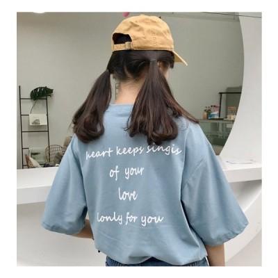 Tシャツ 半袖 ロゴ 3色