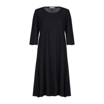 ALMERIA ミニワンピース&ドレス ダークブルー S 100% コットン ミニワンピース&ドレス