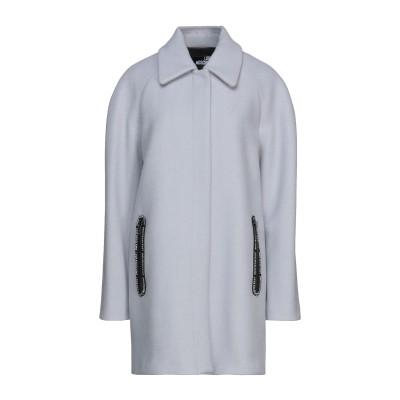 ラブ モスキーノ LOVE MOSCHINO コート ライトグレー 38 バージンウール 78% / ナイロン 22% / ポリエステル コート