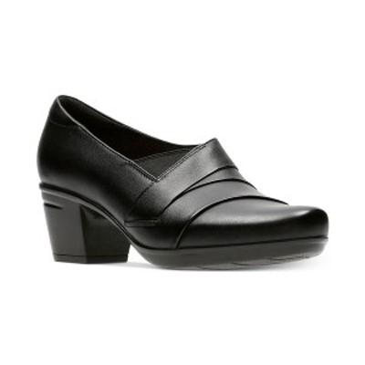 クラークス レディース ブーツ&レインブーツ シューズ Collection Women's Emslie Warbler Leather Shooties Black Leather