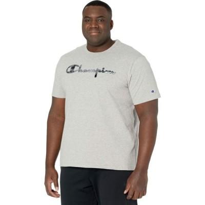 チャンピオン Champion LIFE メンズ Tシャツ トップス Heritage Short Sleeve T-Shirt Oxford Gray